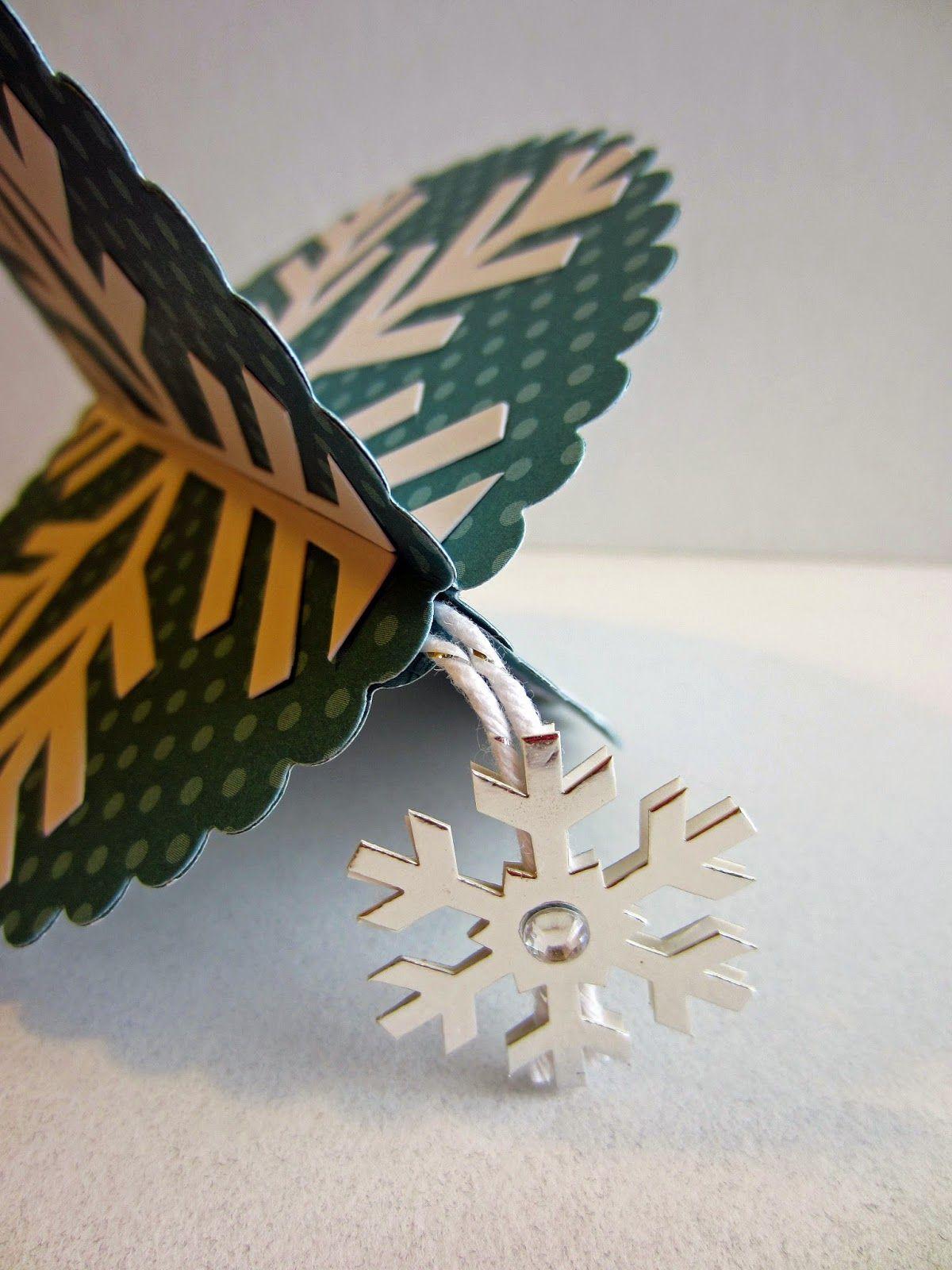 Paper Seedlings Pp Snowflake Ornament
