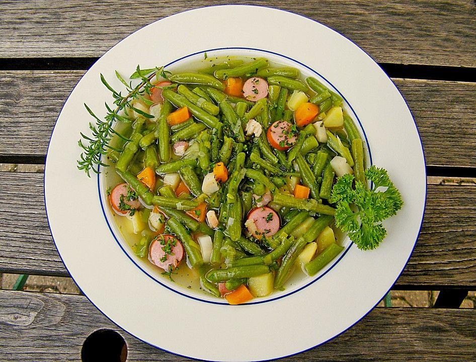 Leckere grüne Bohnensuppe von Mausi180 | Chefkoch