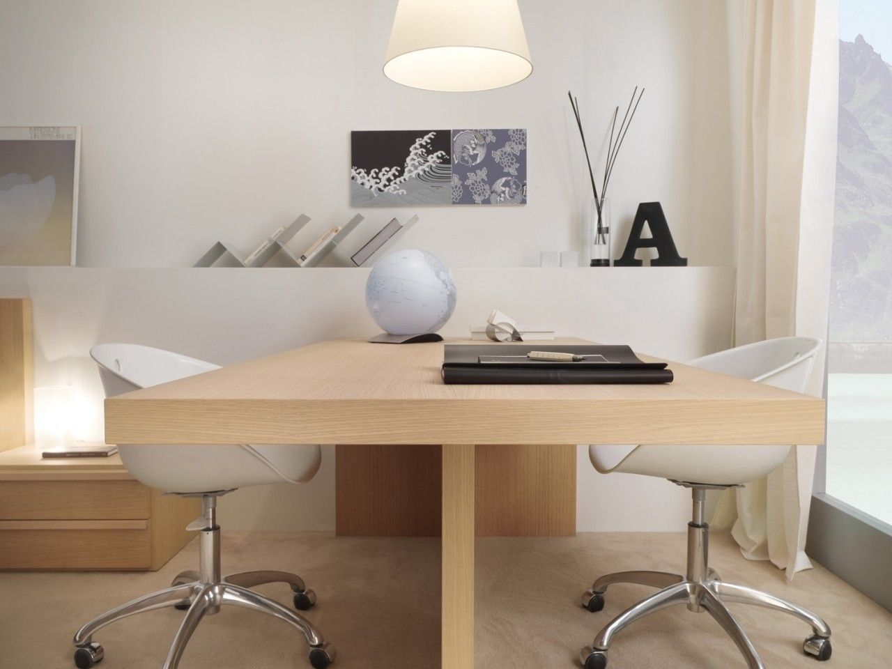Furniture Magnificent 2 Person Desk For Home Office Design Founded Rumah