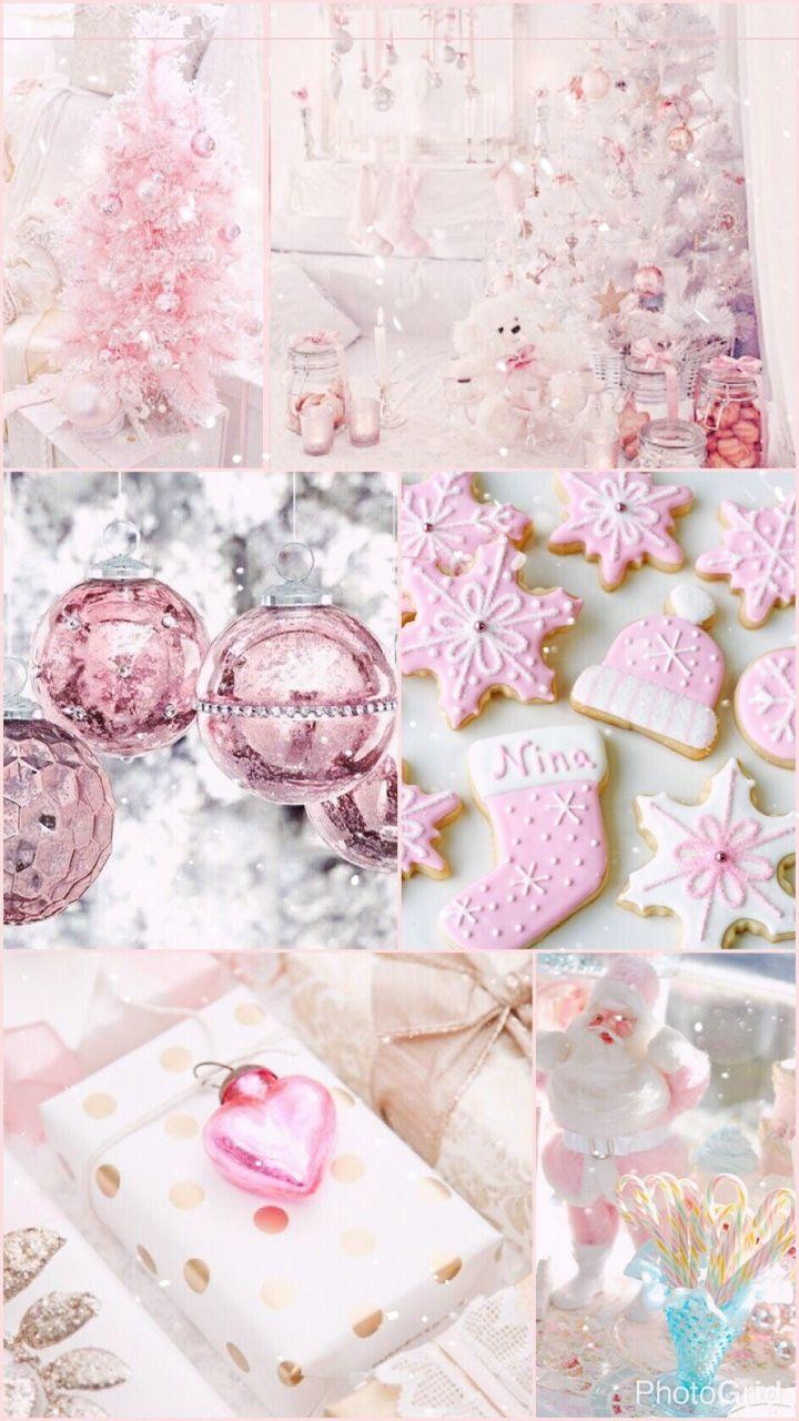 Pink Christmas Cute Christmas Wallpaper Pink Christmas Pink Wallpaper Iphone