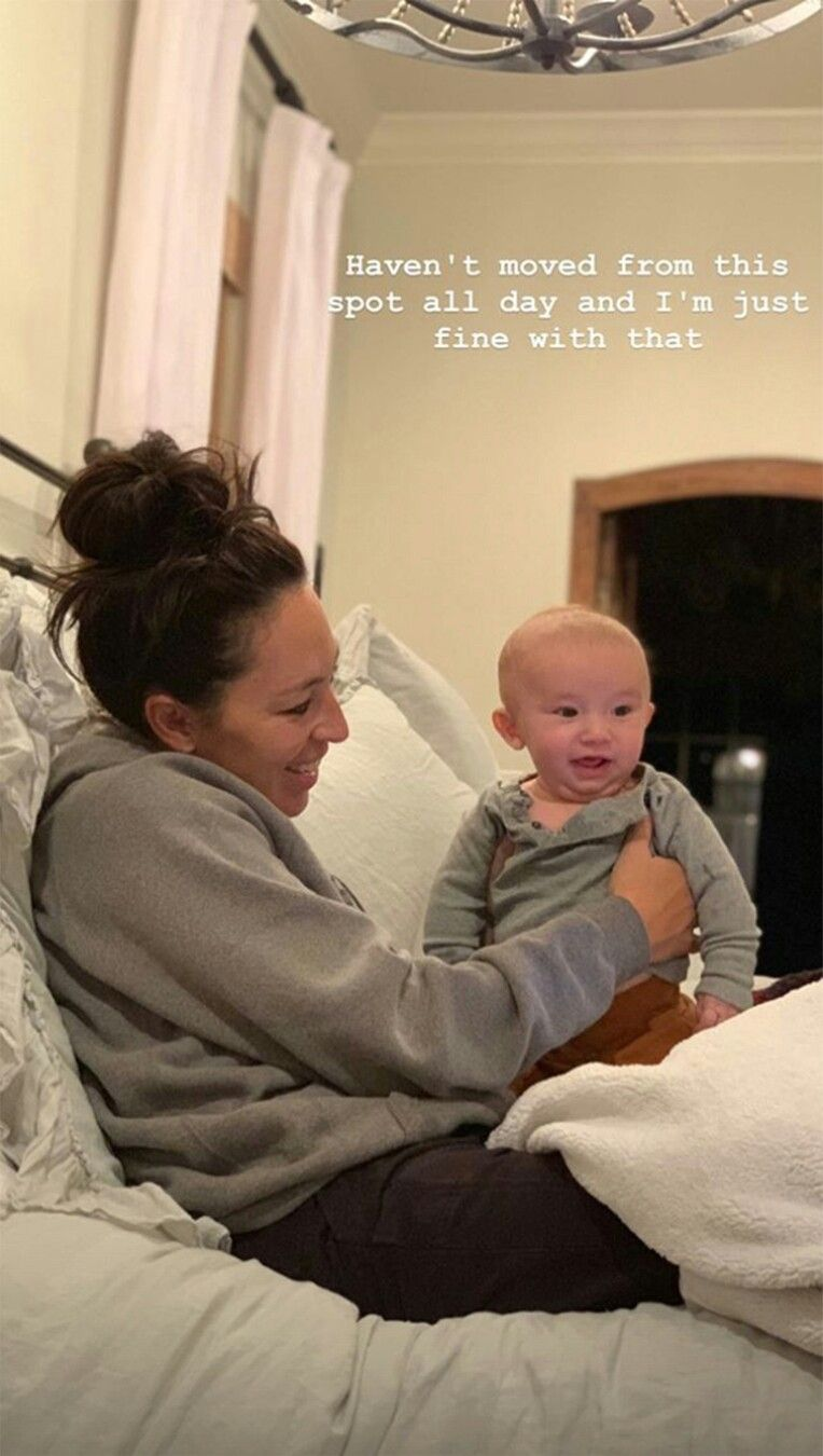 So Adorable Baby Crew Is 4 Months Now Fixer Upper Joanna Gaines