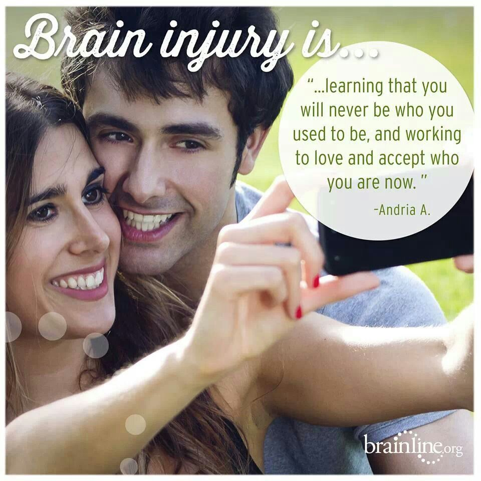 Dating someone with a brain injury