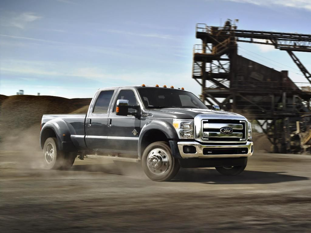 Ford the new 2015 ford f series super duty will