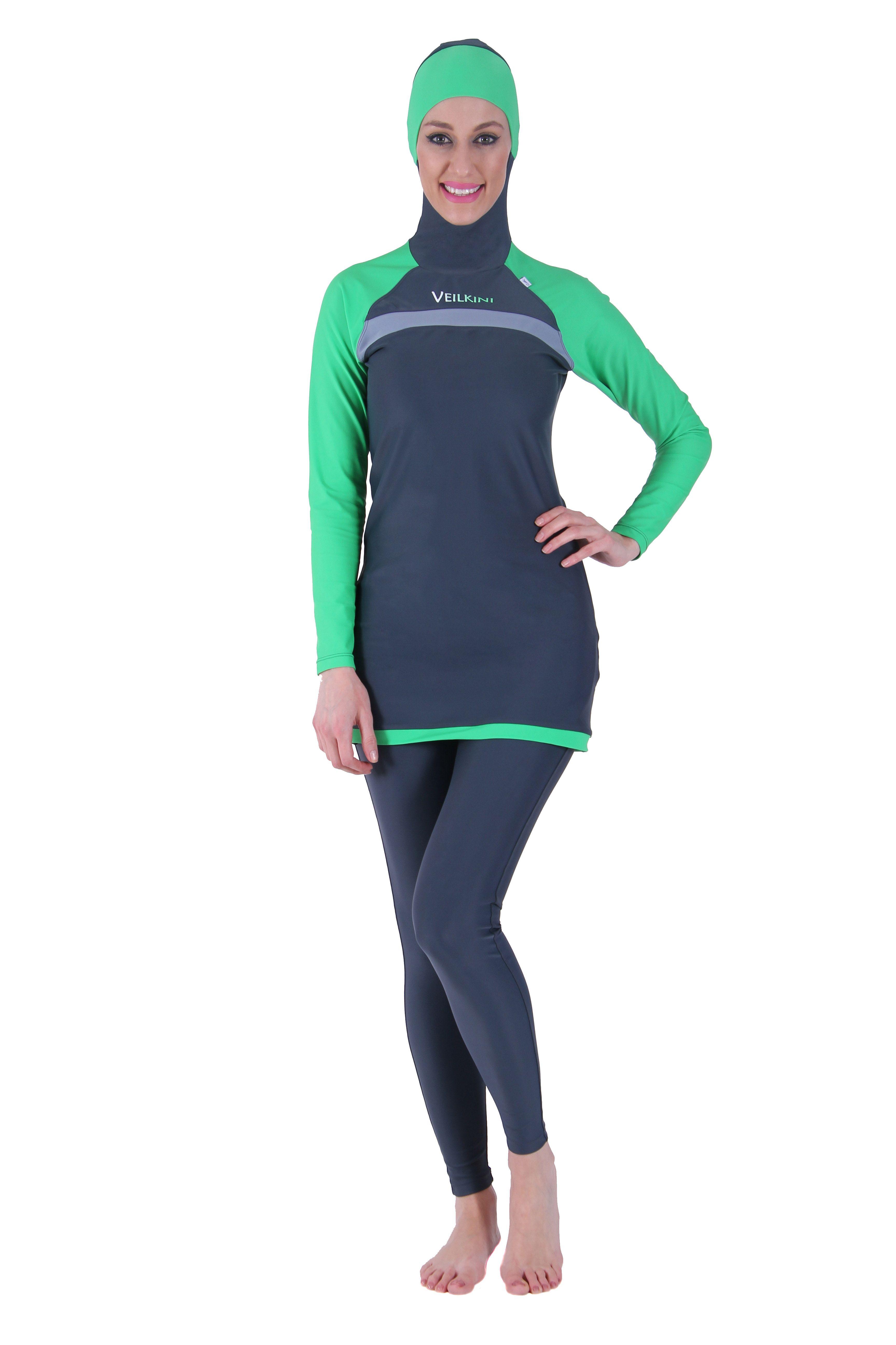 Muslim Women Islamic Swimwear Modest Full Cover Burkini Swimming Costume Bathing