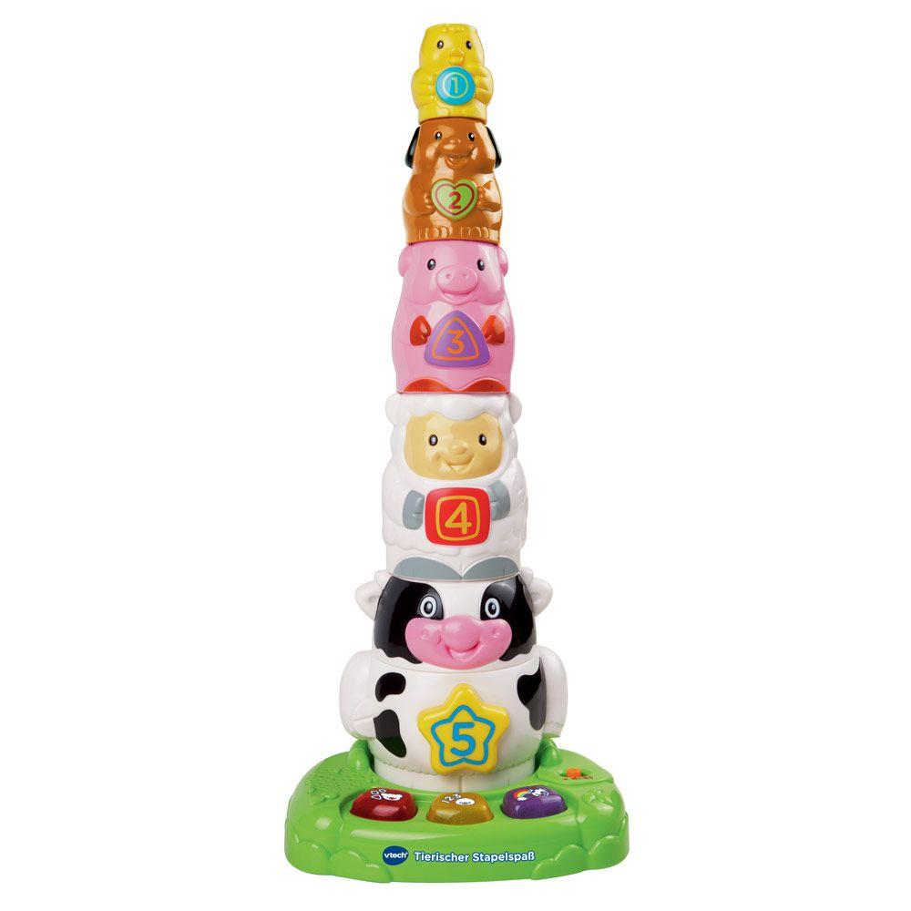 Cooles #Kleinkind #Geschenk : VTECH Tierischer Stapelspaß gibt\'s für ...
