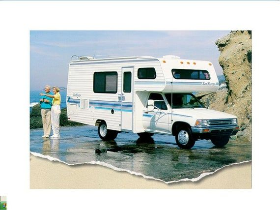 Seabreeze Motorhome Operations Manual For Toyota Rv