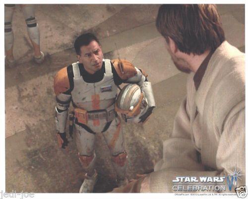 Details about Official Pix 8x10 Photo Clone Commander Cody Obi-Wan Kenobi Celebration VI