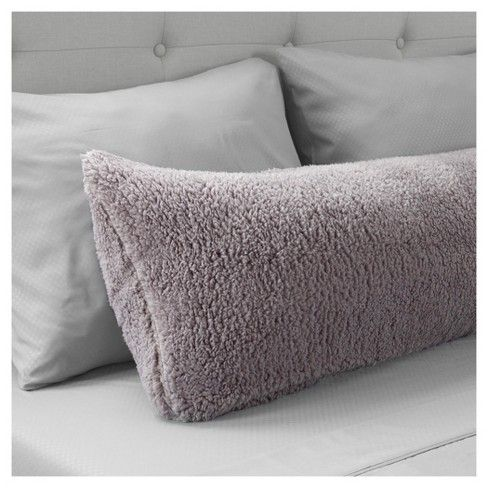 Target Body Pillow Cover Inspiration Yorkshire Home Soft Sherpa Body Pillow Cover  Yorkshire Home Decorating Design