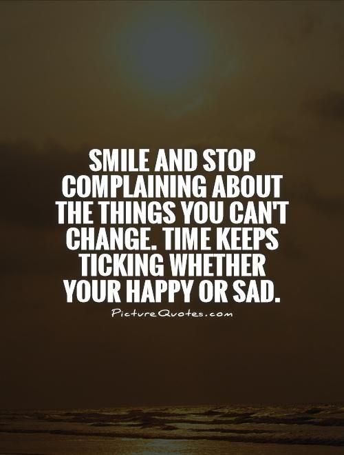 Stop Complaining And Do Something Quotes