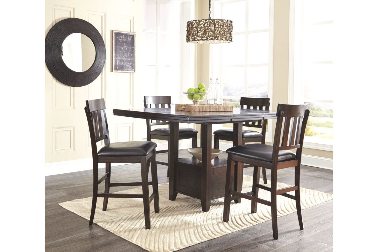 Haddigan Counter Height Dining Room Extension Table Ashley