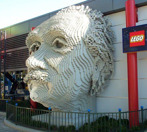 10 Awesome Lego Sculptures Lego Awesomeness Pinterest Lego
