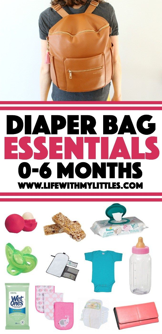 Diaper bag essentials for the first six months. What to ...