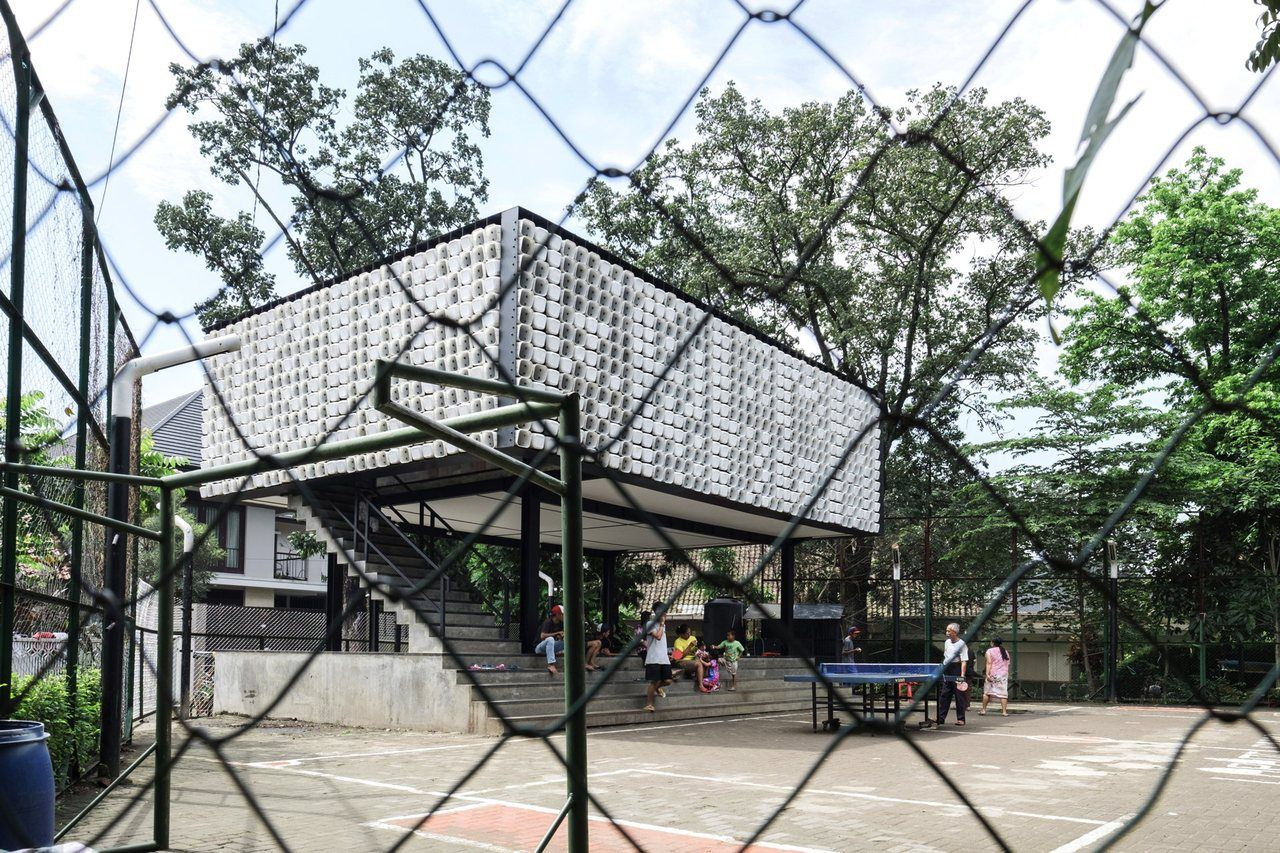 Bima the microlibrary by SHAU in Indonesia