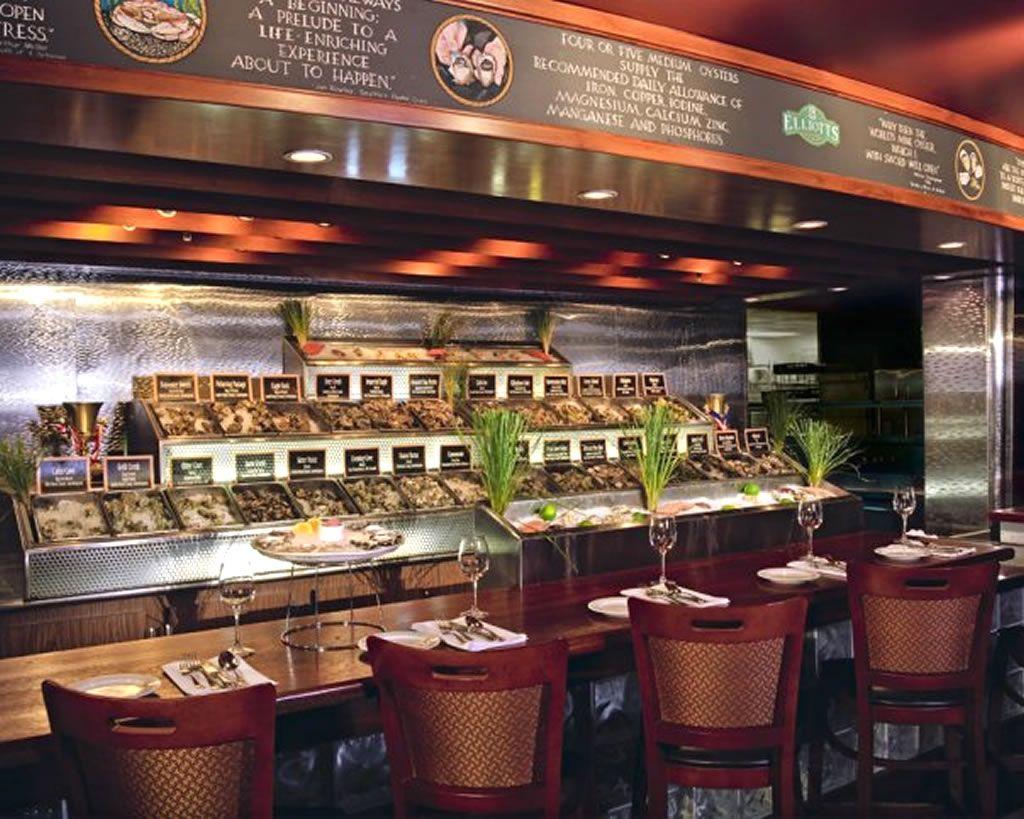 Restaurant Oyster Bar Hospitality Interior Design Of Elliots House Seattle