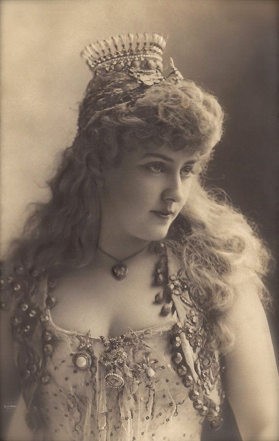 Lillian Russell, Famous American Actress & Singer Musical Vaudeville
