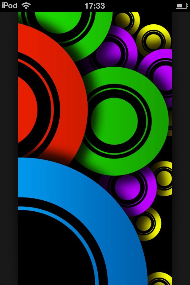 Colour Circles Creative Iphone Wallpapers Iphone Wallpaper Images Wallpaper Wa Cool wa wallpaper colorful
