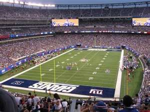 huge discount ac954 30b2a Home of the NY Giants: MetLife Stadium in East Rutherford ...