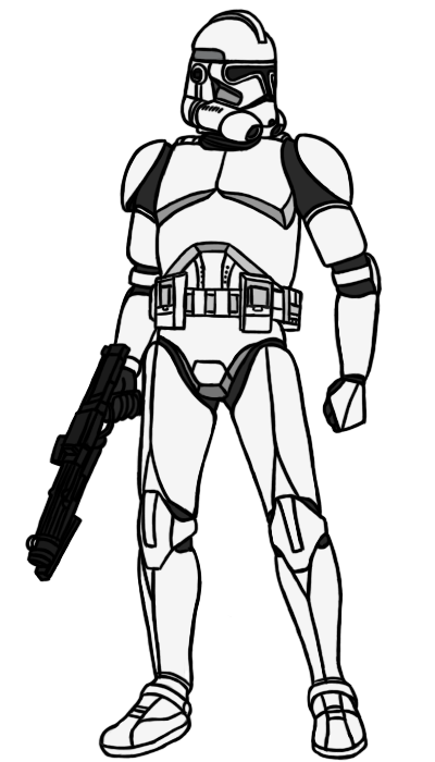 Phase II Clone Trooper Base by PD-Black-Dragon | Our duty protec the ...