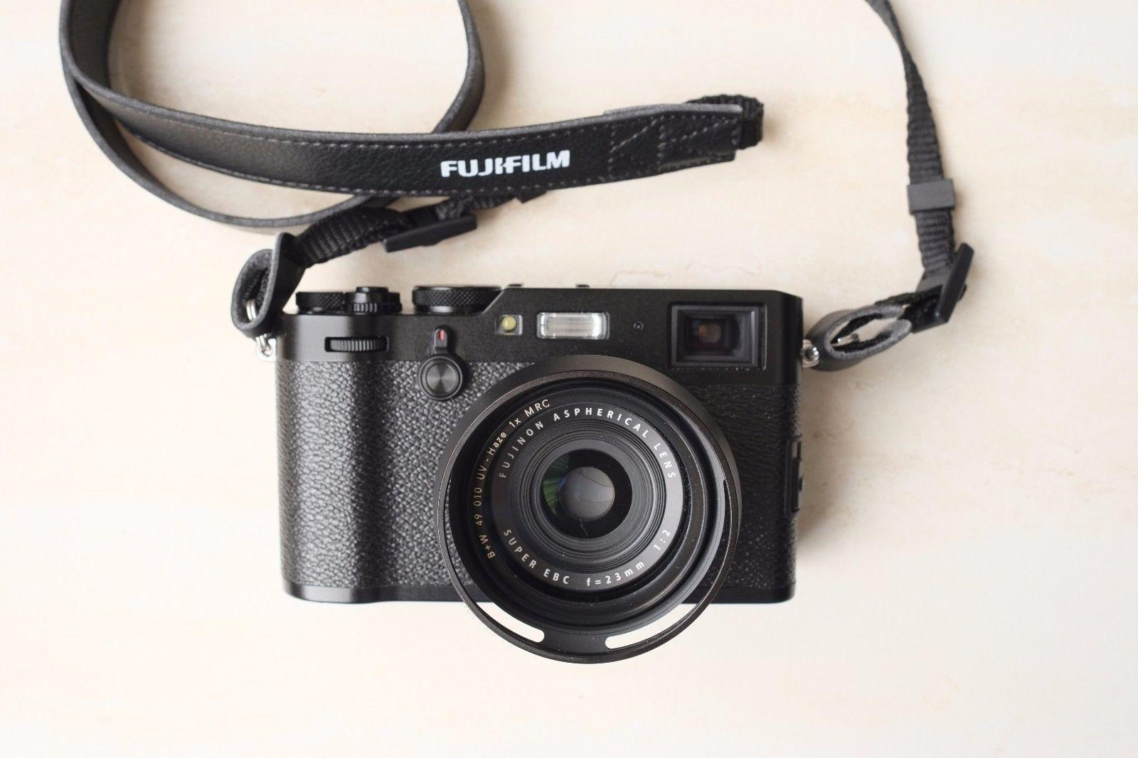 Fujifilm X100F Black 24 3MP Digital Camera Fuji: $990 00 (28