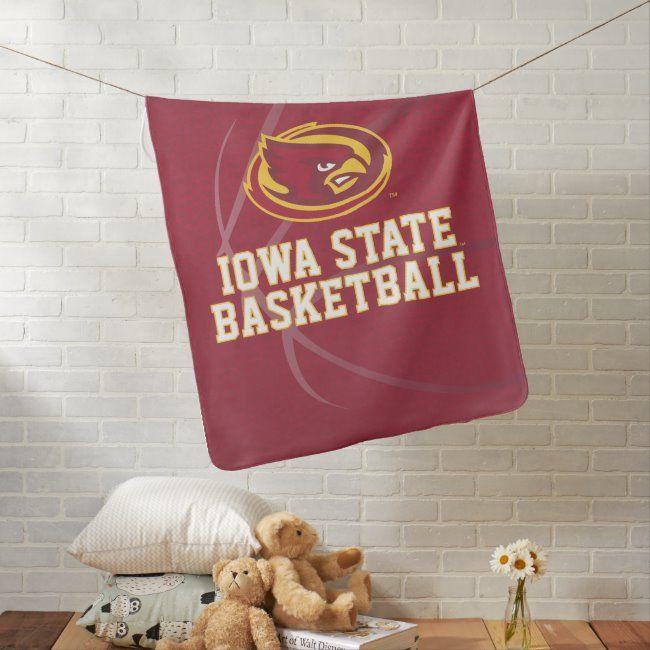 Iowa State University | Iowa State Basketball Baby Blanket | Zazzle.com