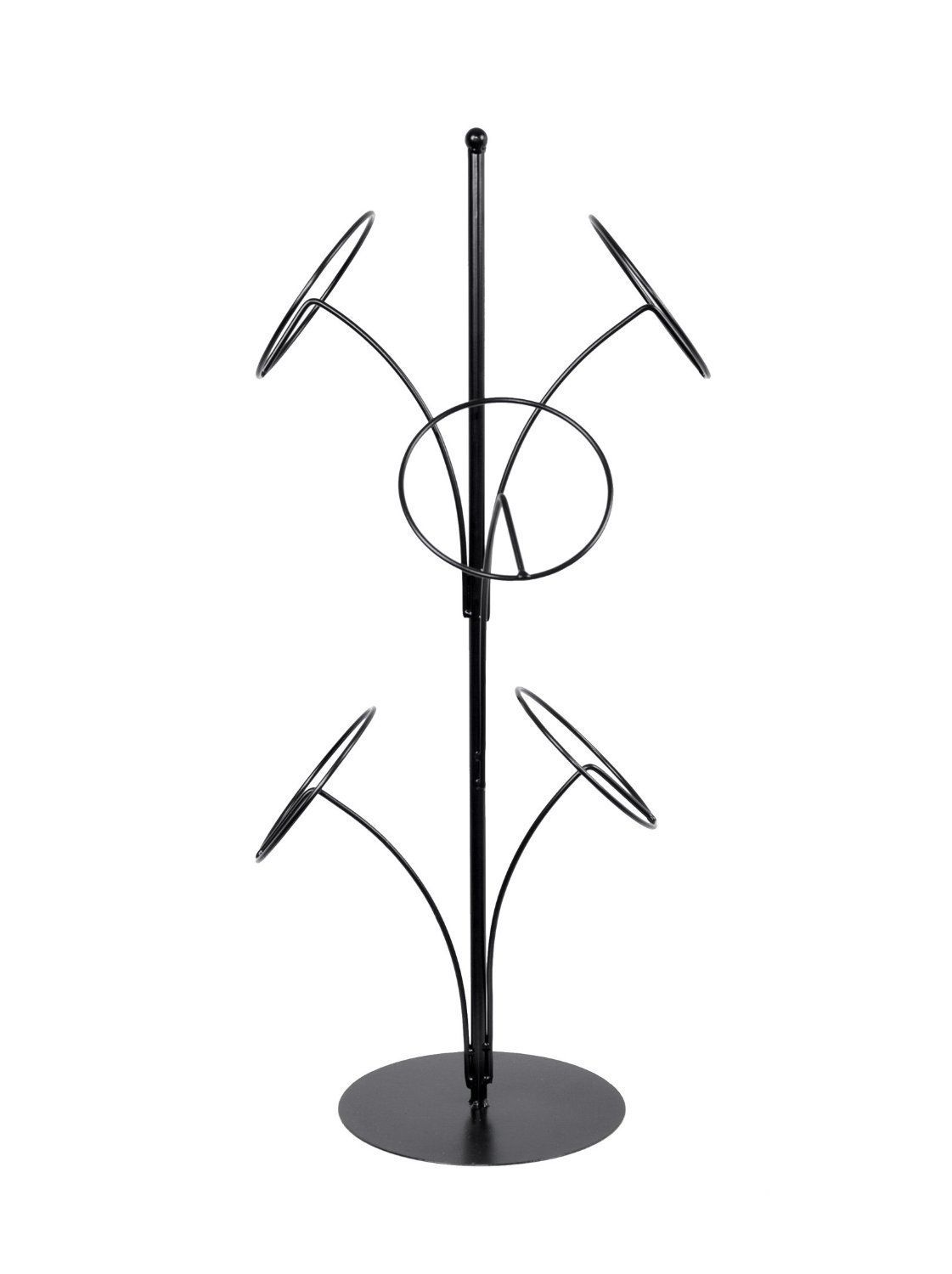 Charming Amazon.com: Metal Tabletop Hat Rack / Wig Storage Holder Display Stand With  5