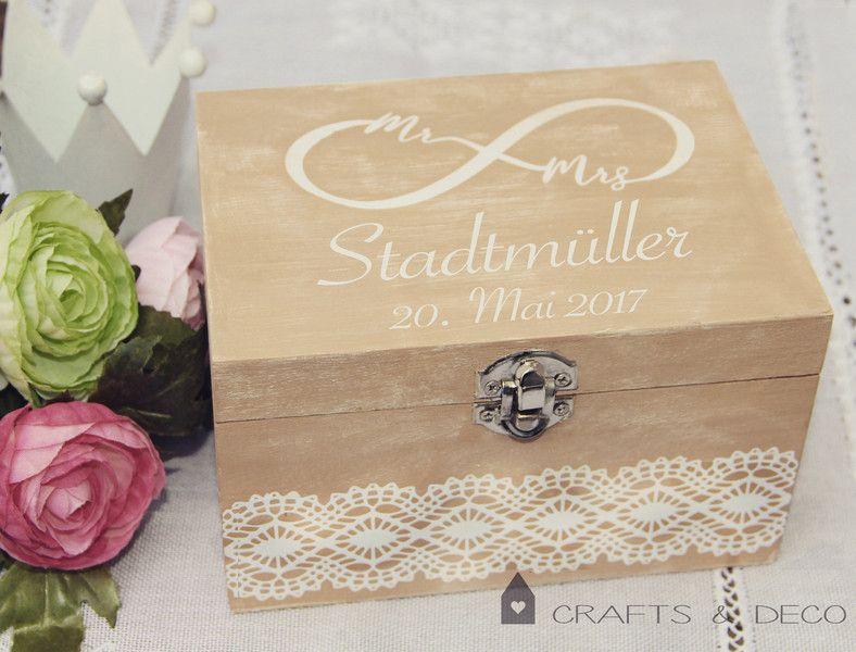 Geldgeschenke Geschenkbox Vintage Stil Hochzeit Schatulle Kiste
