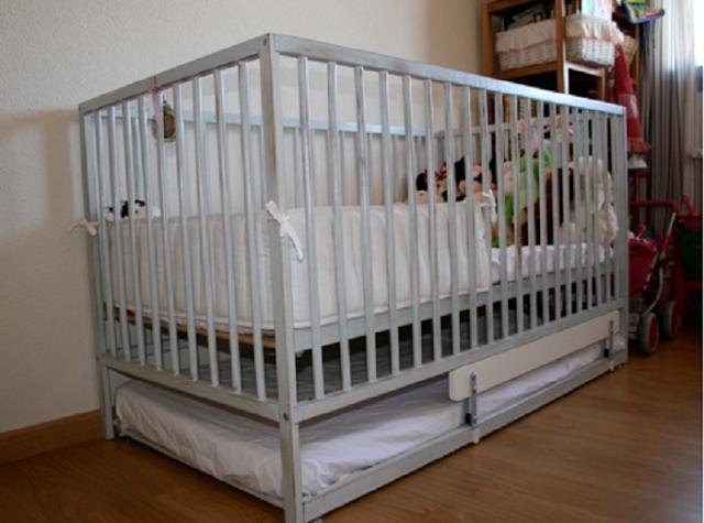 Sniglar Trundle Crib Ikea Hackers Toddler Trundle Bed Ikea Sniglar Crib Cribs