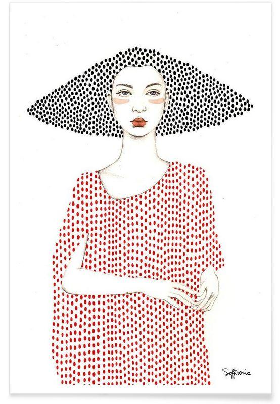 Photo of Elle as Premium Poster by Sofia Bonati | JUNIQE