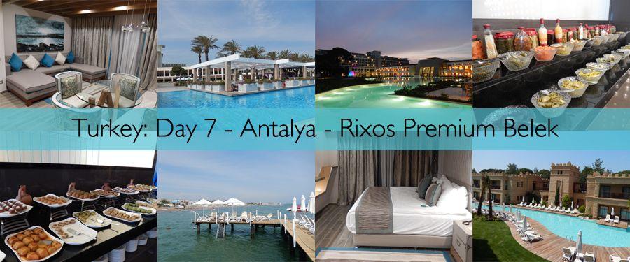 Rixos Premium Belek Hotels In Turkey Belek Best Resorts