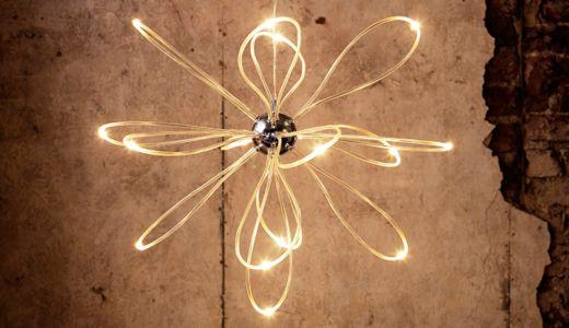 Günstige Wohnzimmerlampen ~ Hängeleuchte wie z.b. onsjÖ kronleuchter led verchromt vip home