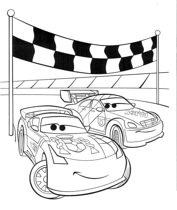 Cars Malvorlagen Zum Ausdrucken