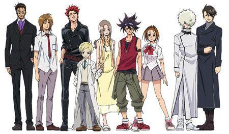 phi brain kami detective shows manga characters