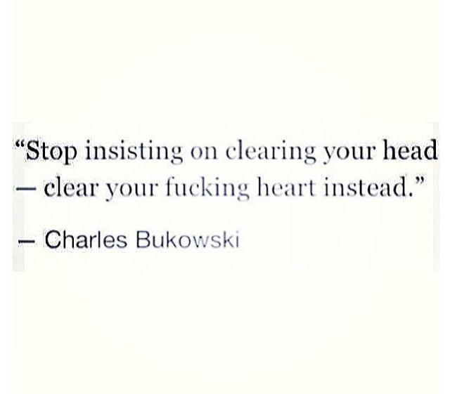 Otro de mis favoritos.. Bukowski