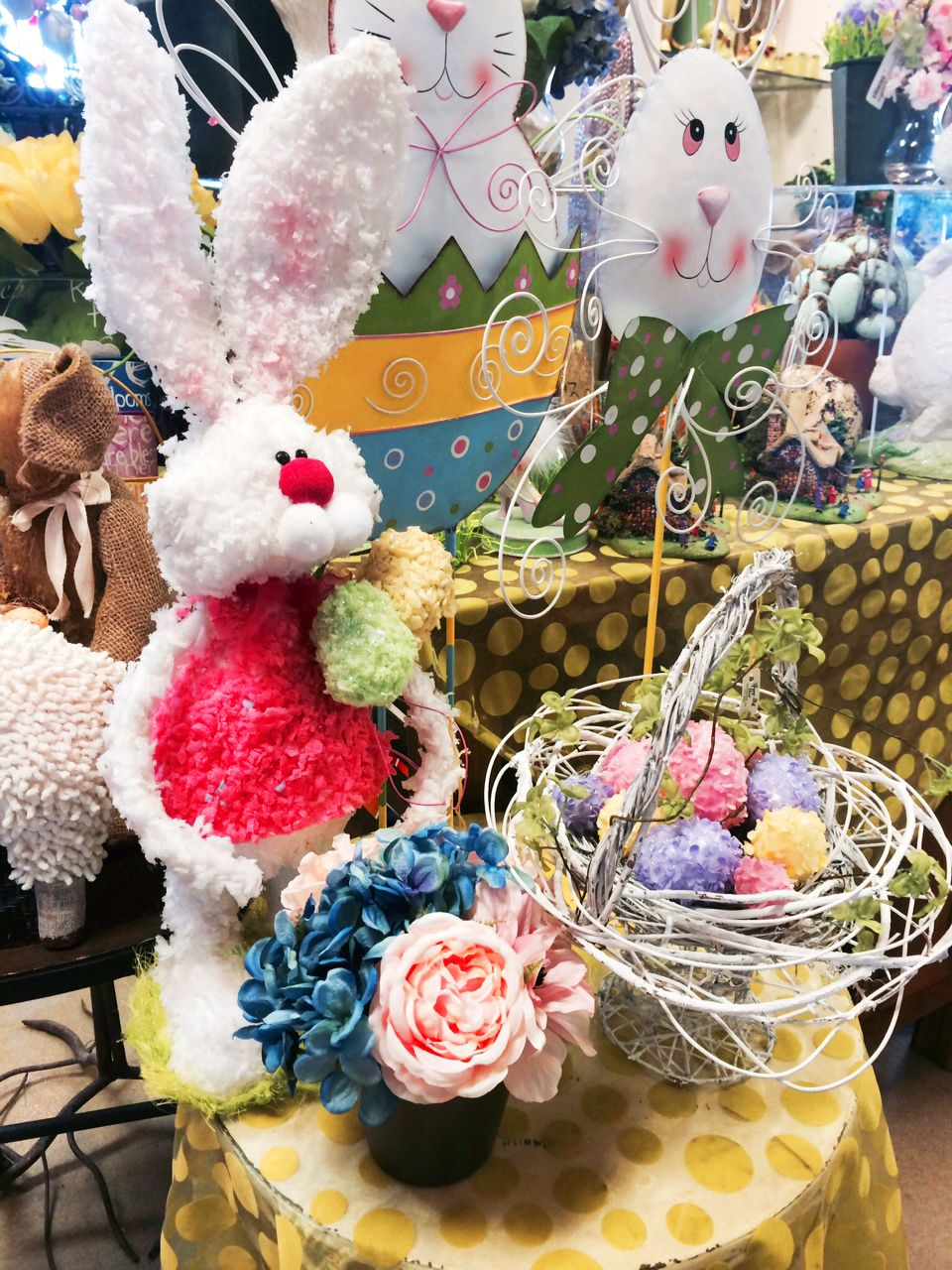 Easter bunny gift shop by rosemary duff florist in escondido ca easter negle Choice Image