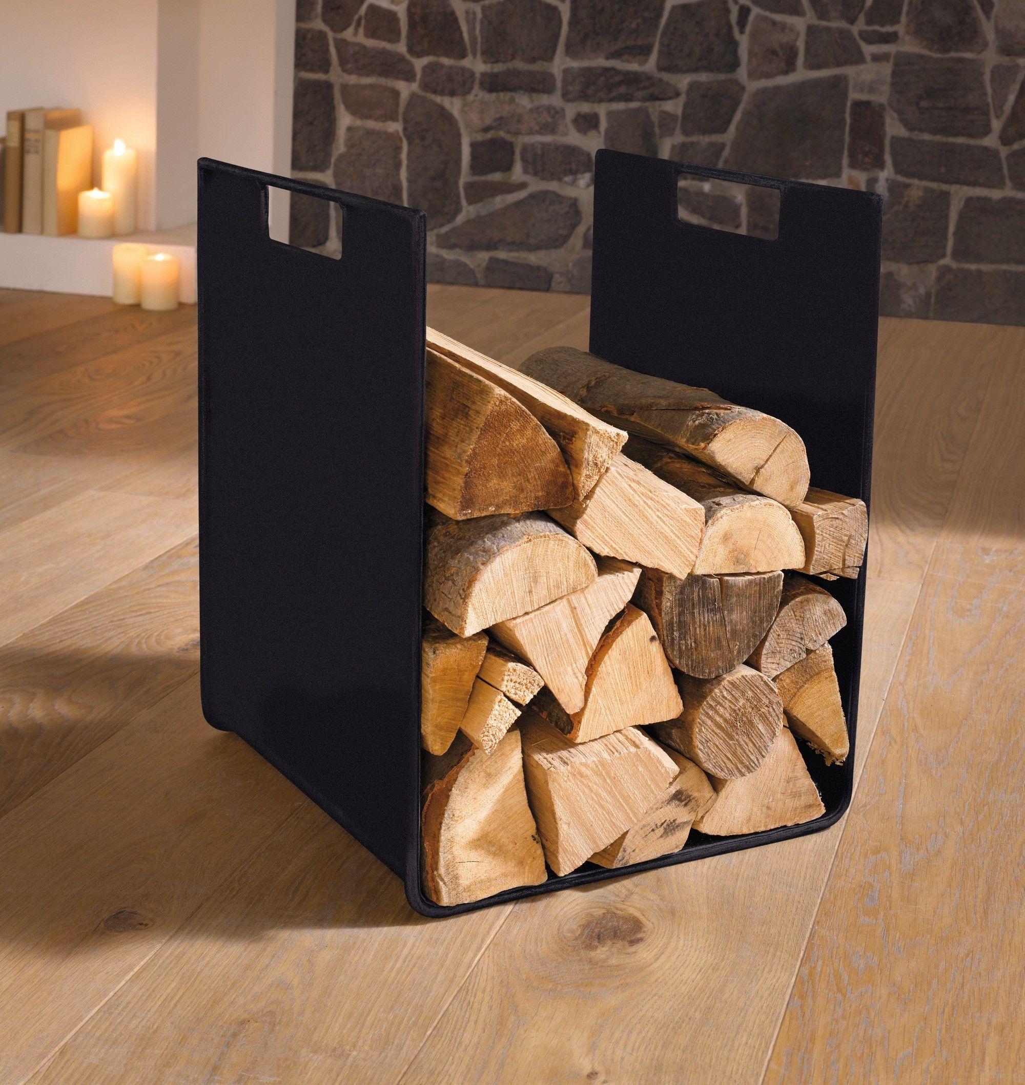 "metall-holzlege ""kubus"" | wohnambiente-shop.de | firewood storage"