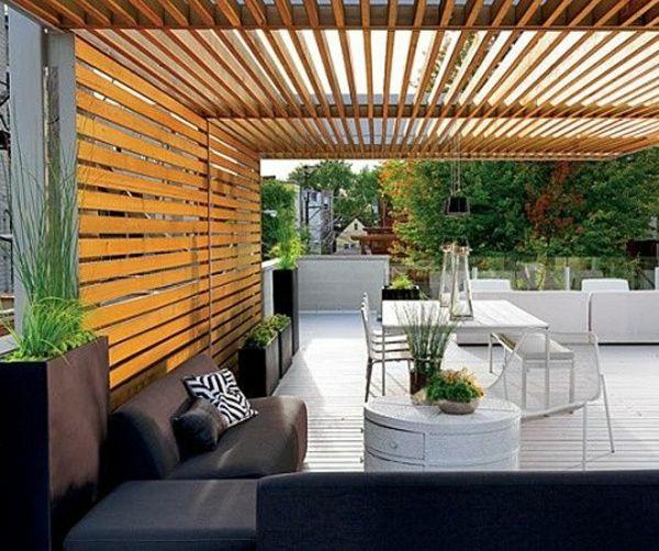 Garten Designideen Pergola Selber Bauen Wohnen Patio Modern