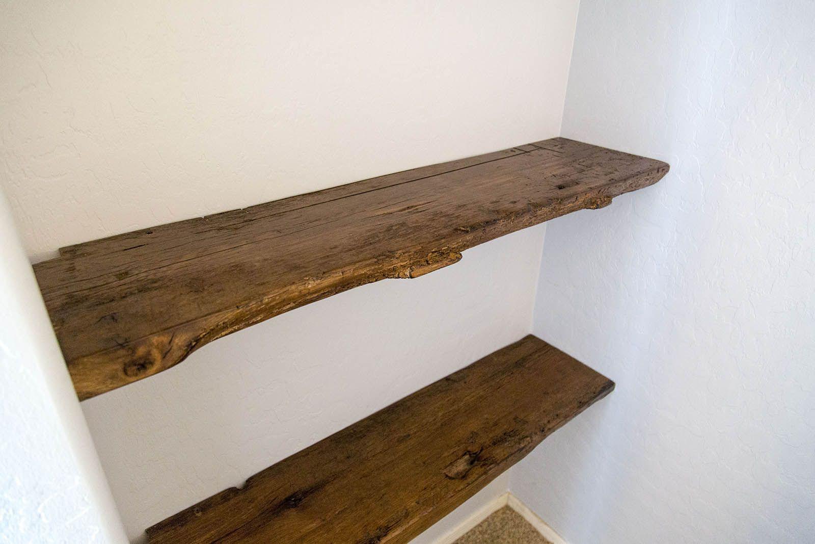quality design 823db 716b2 Porter Barn Wood - Reclaimed Oak Floating Shelves   Bedroom ...