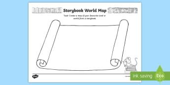 Storybook world map activity book week english reading setting storybook world map activity book week english reading setting map escape to everywhereaustralia gumiabroncs Images