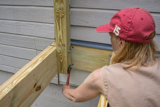 Best Image Result For 4X4 Pergola Post To Existing Deck Deck 400 x 300