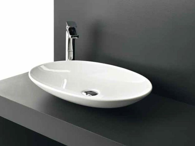 ovale keramik waschschale la fontana lf16 von artceram italienische badkeramik praxistoilette. Black Bedroom Furniture Sets. Home Design Ideas