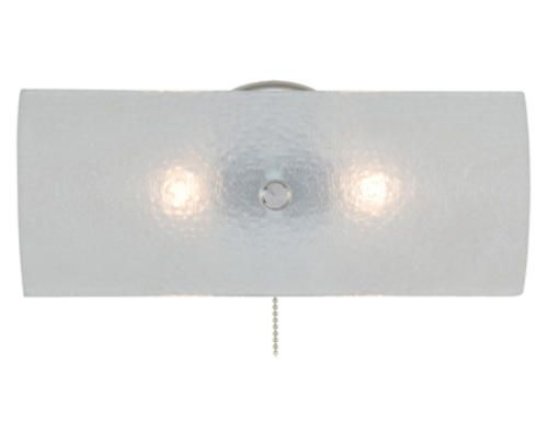 "Bathroom Light Fixture Pull Chain baker 2-light 11.25"" chrome vanity light with pull chain"