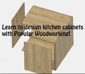 Design Your Own Frameless Kitchen Cabinets In Sketchup  Kitchen Extraordinary Design Your Own Kitchens Inspiration