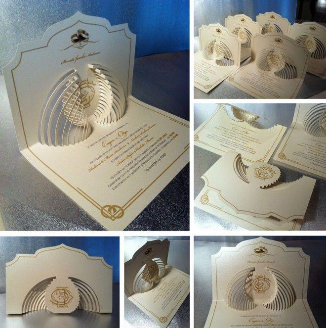 Wedding Cards Ideas To Make: 35 Creative And Unusual Wedding Invitation Card Design