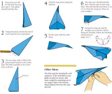How To Make Paper Airplanes Step By Step - Bing Images | How To