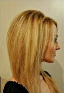 Pleasing Long Bobs Long A Line And Bobs On Pinterest Short Hairstyles Gunalazisus