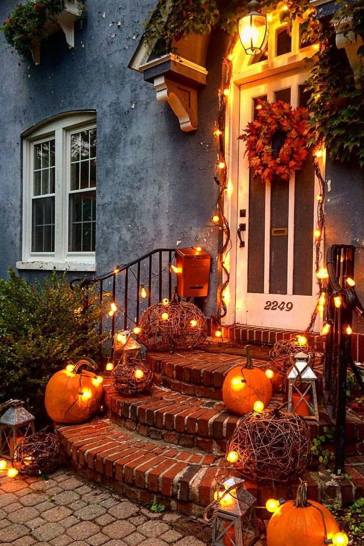 Autumn Splendor The Love Of All Things Autumn Fall Outdoor Decor Fall Front Porch Decor Fall Halloween Decor