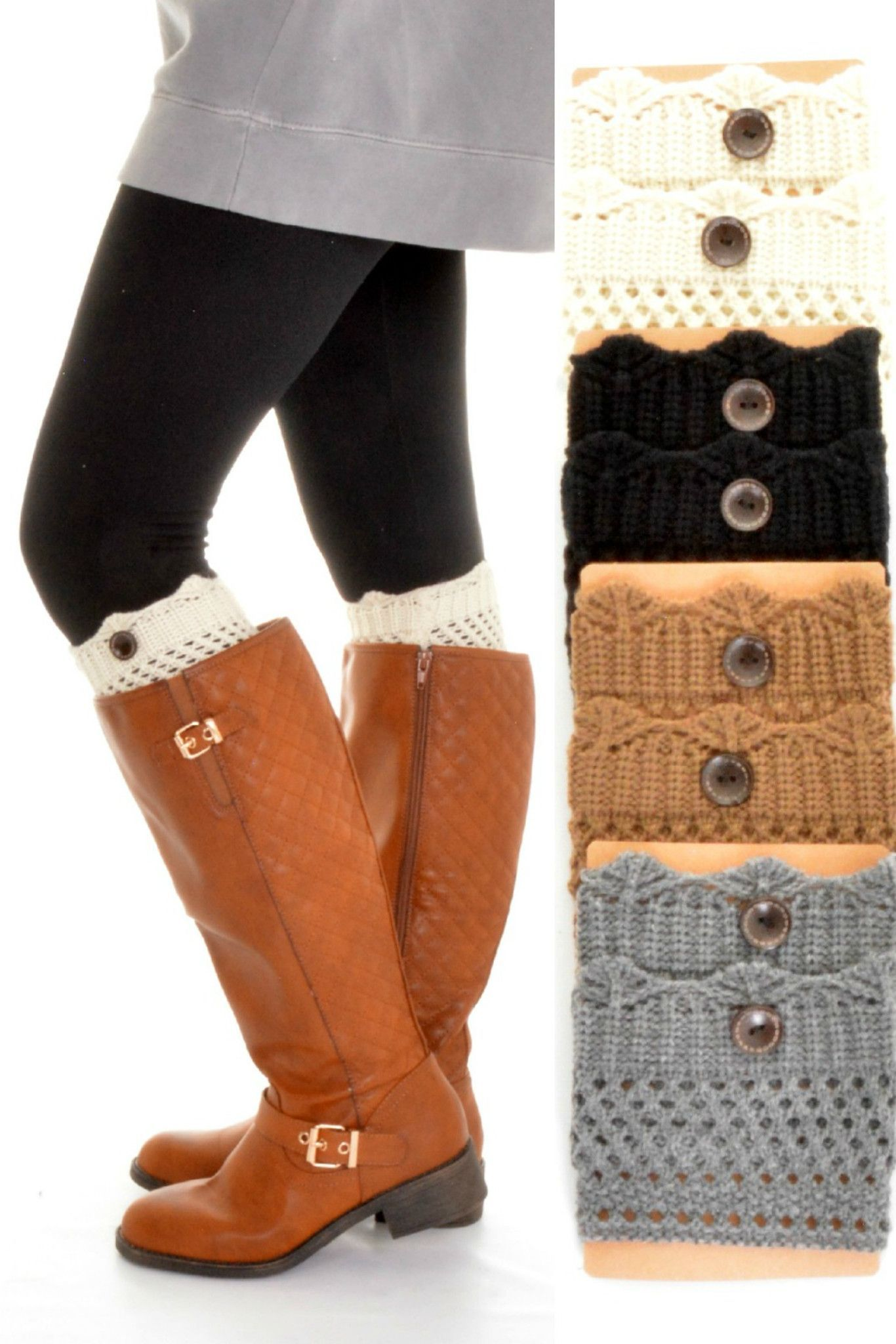 LaRue Crochet Boot Cuff | Foot fetish | Pinterest | Botas, Tejido y Lana
