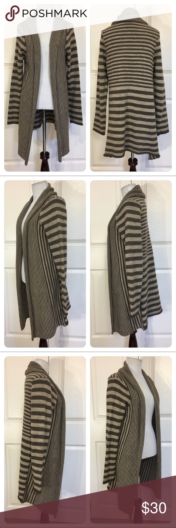 Cocogio striped sweater cardigan | Customer support and Delivery