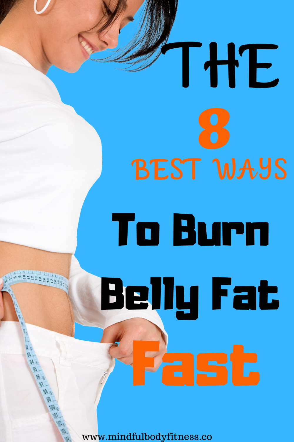 fastest way to get rid of belly fat