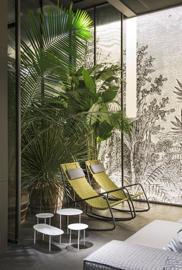 Living divani relaxed atmosphere between dream and reality spa interior design patio also the rh pinterest